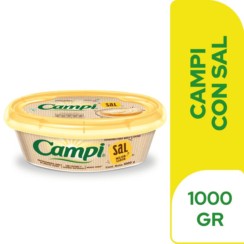 Margarina Campi Con Sal 1000 G