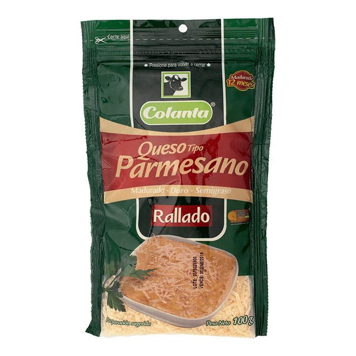 Queso Colanta Parmesano Rayado 100 G