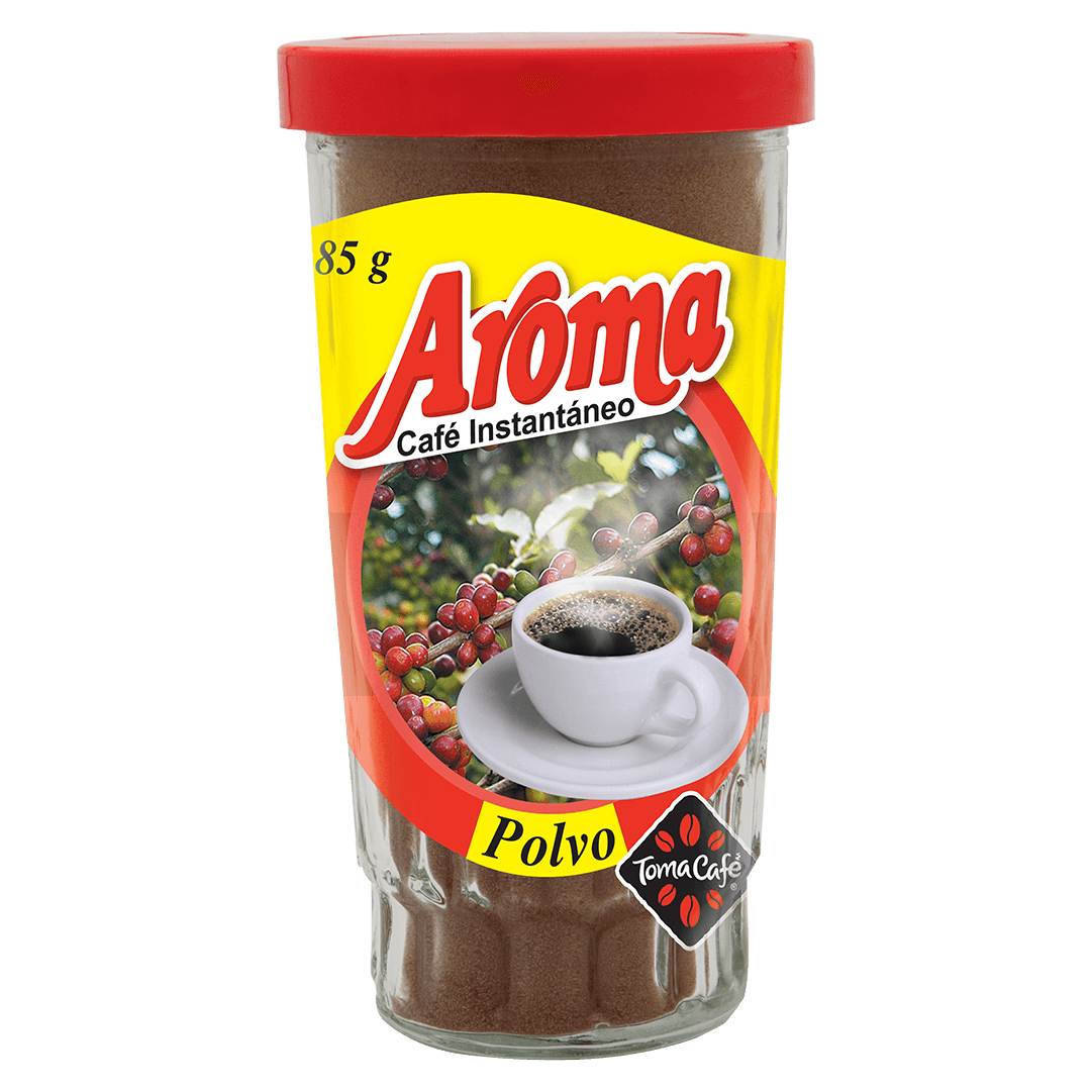 Caf  Aroma Soluble 85 G