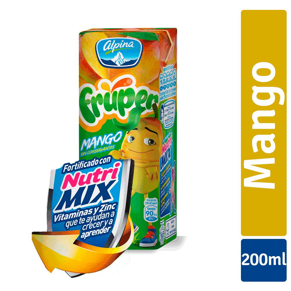 Fruper Mango Caja 200Ml