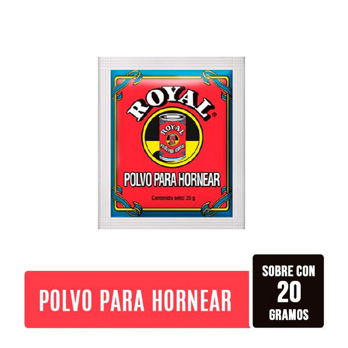 Polvo De Hornear Royal 20 G