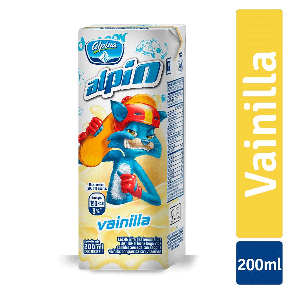 Alpin Vainilla Caja 200Ml