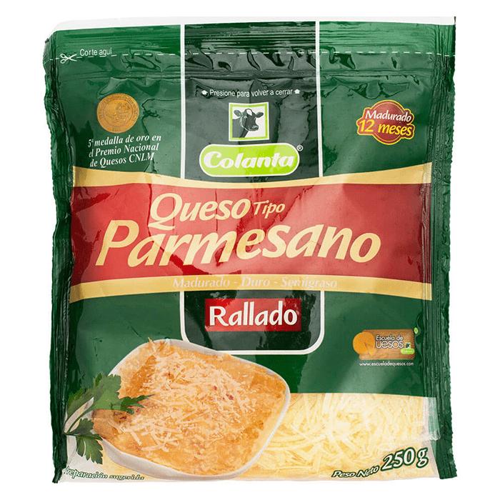 Queso Parmesano Colanta 250 G