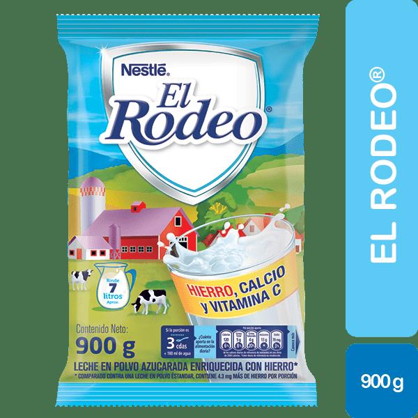 Leche El Rodeo Hierro 900 G