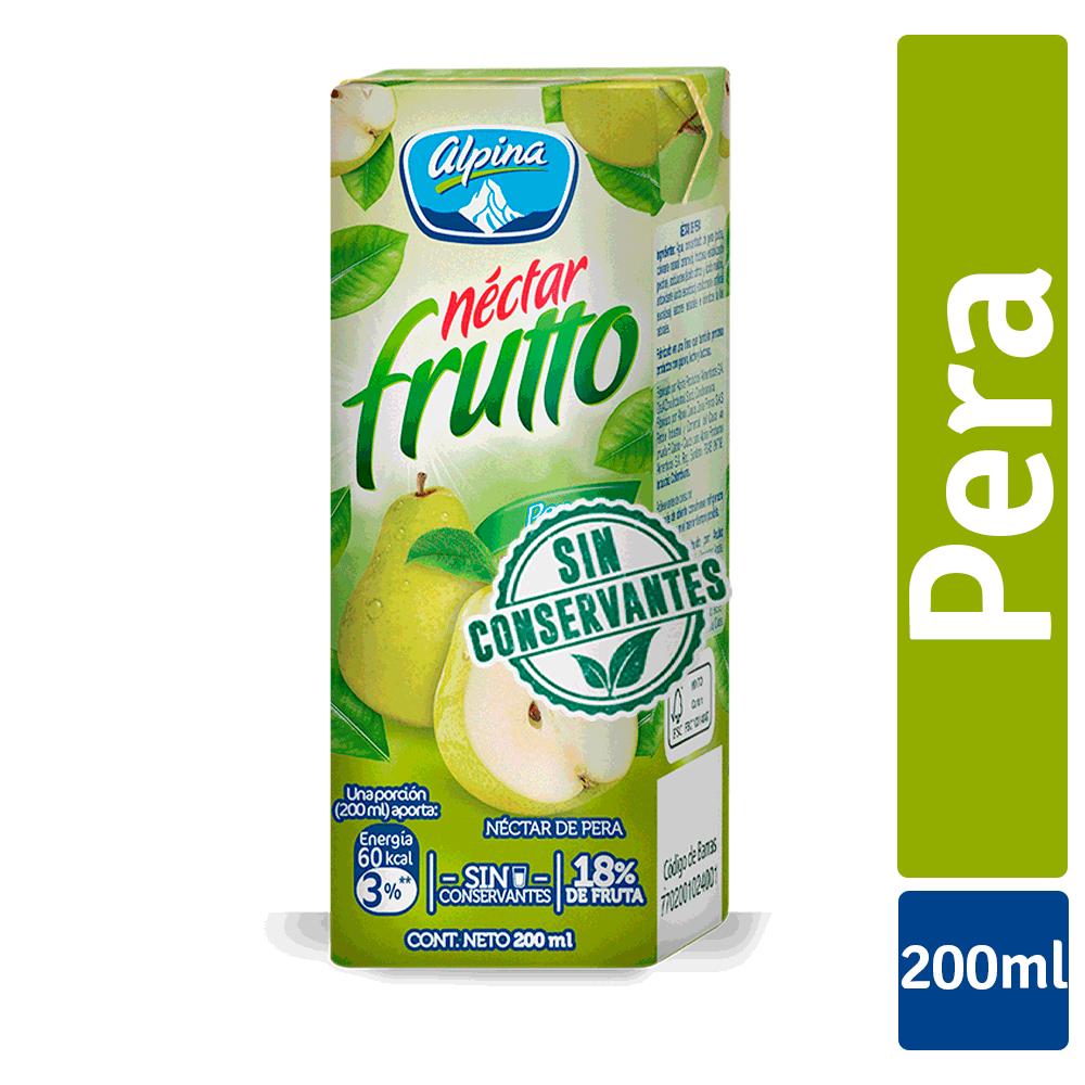 Nectar Frutto Clásico Pera Caja 200Ml