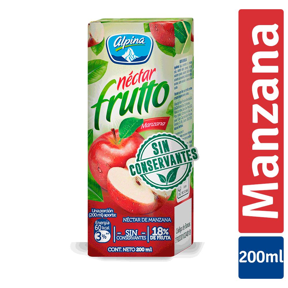 Nectar Frutto Clásico Manzana Caja 200Ml