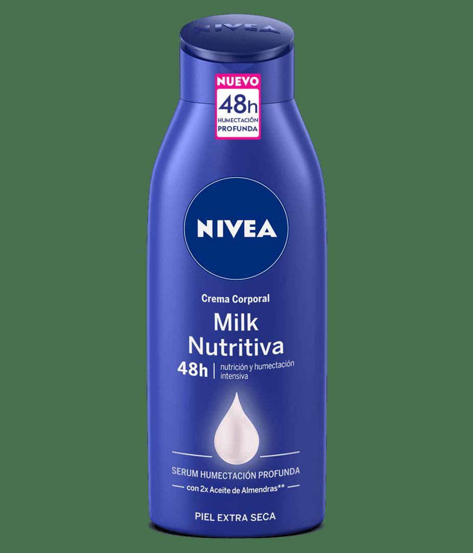 Crema Nivea Body Milk Nutritiva P.Ext.Seca 400 Ml