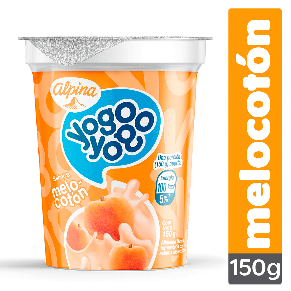 Yogo Yogo Melocotón Vaso 150G