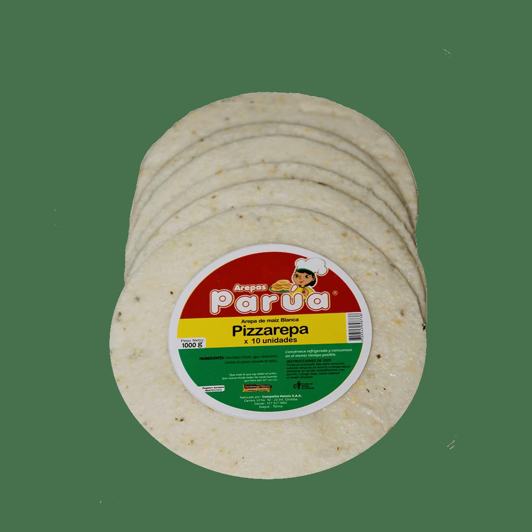 Pizzarepa Parua Paquete X 10Und /1000 G