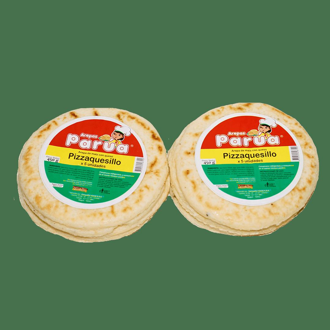 Pizzarepa Parua Quesillo X 5Und /450 G
