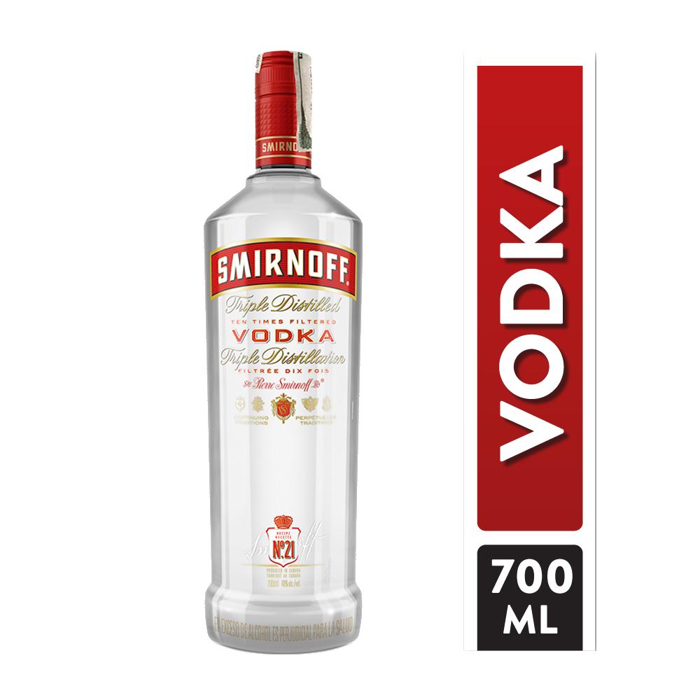 Vodka Smirnoff Red 700 Ml