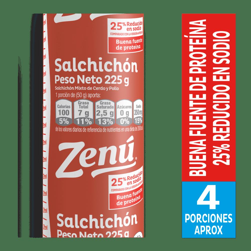 Salchichón Zenú Tradicional 225 G