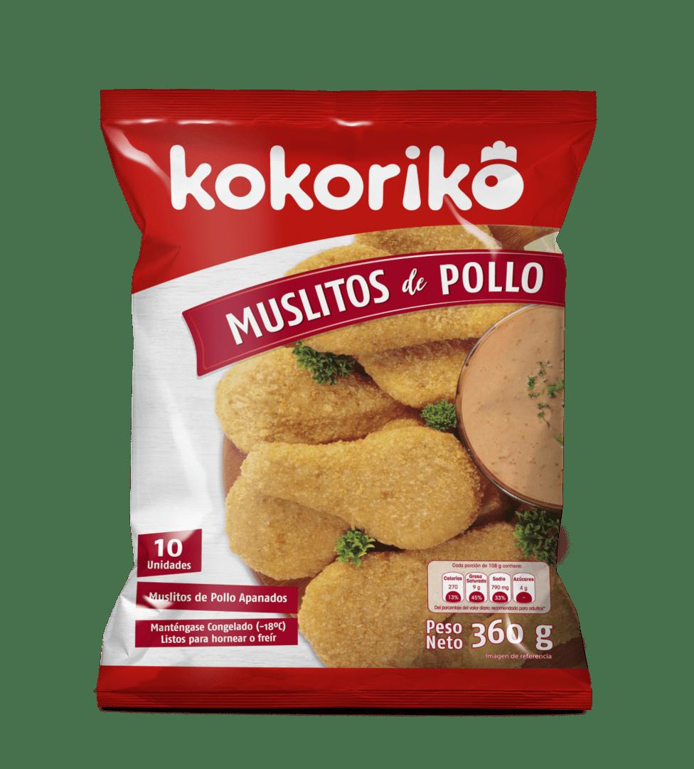 Muslitos De Pollo Kokoriko X 10 Und / 360 G