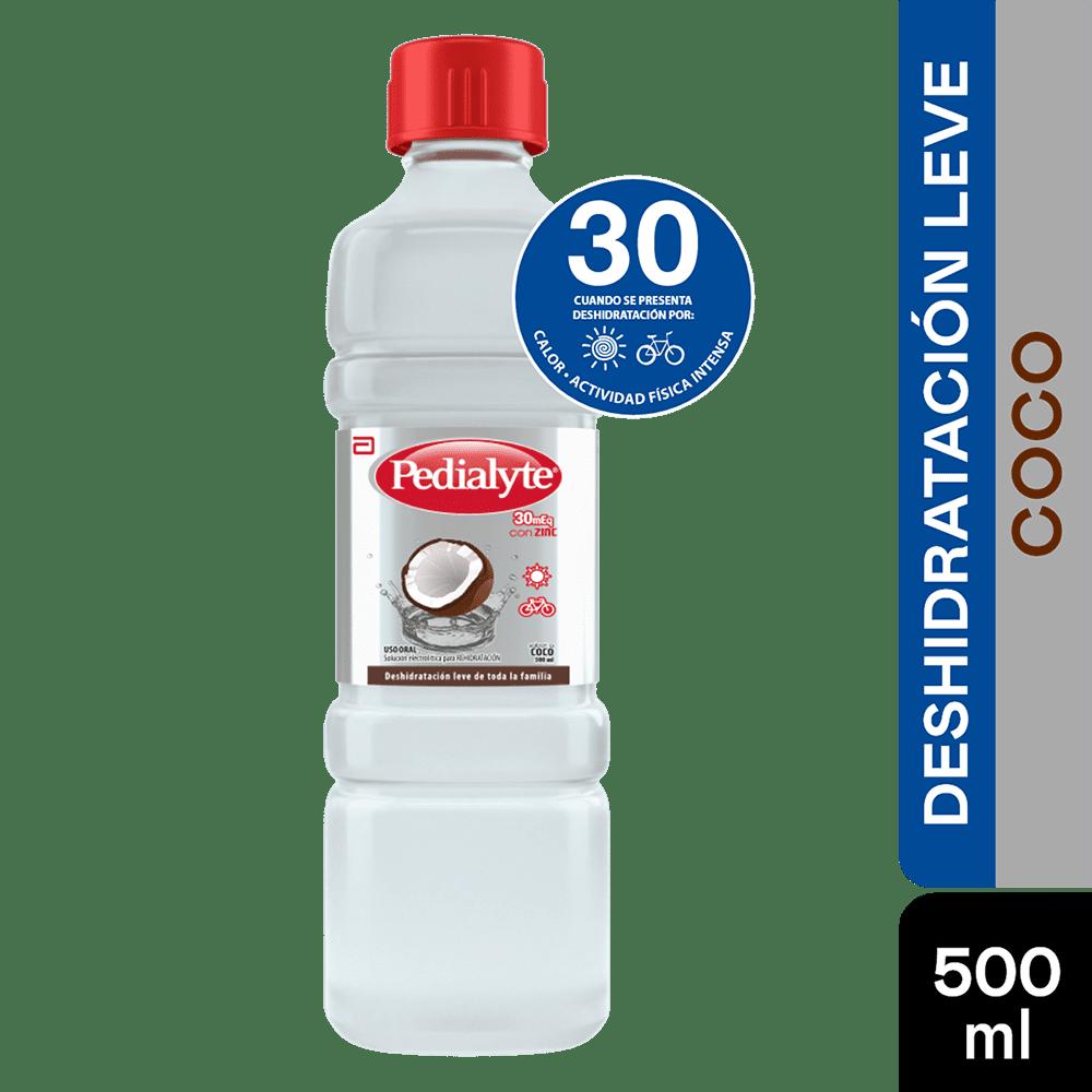 Suero Pedialyte Solucion 30 Coco 500 Ml