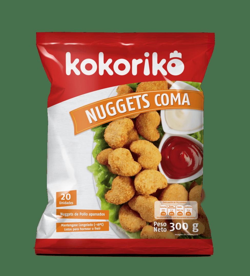 Nuggets De Pollo Kokoriko X 20 Und / 300 G