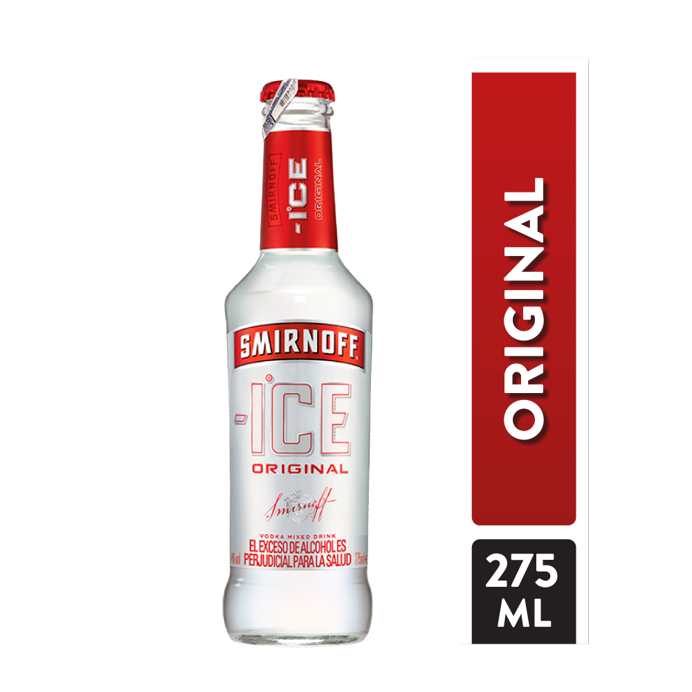Vodka Smirnoff Ice Botella 275 Ml