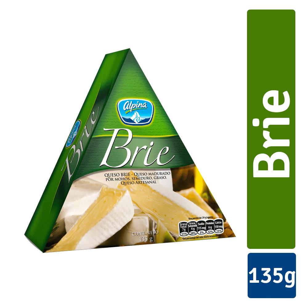 Queso Brie Cuña 135G
