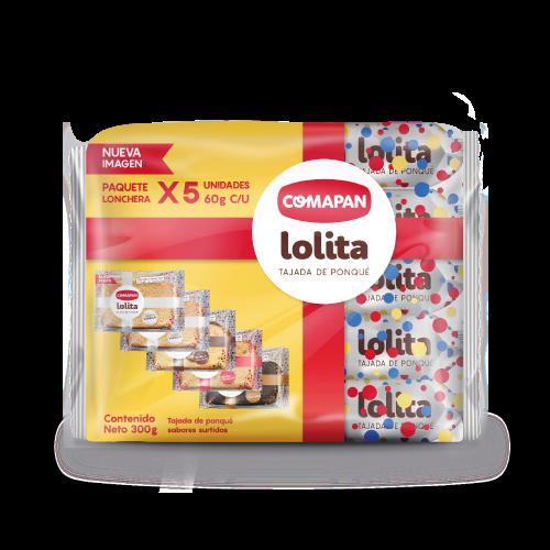 Tajada Comapan Lolita 5 Und X 60 G