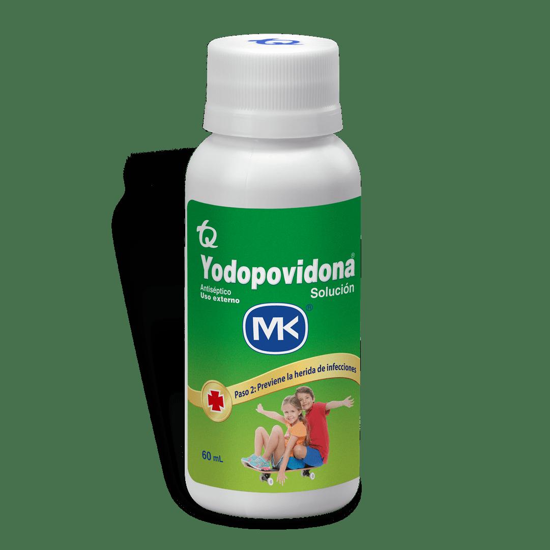 Yodopovidona Solucion 60 Ml