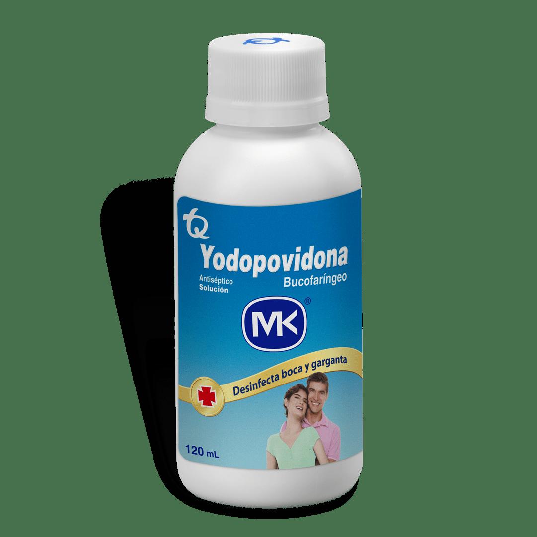 Yodopovidona Bucofaringe 120 Ml