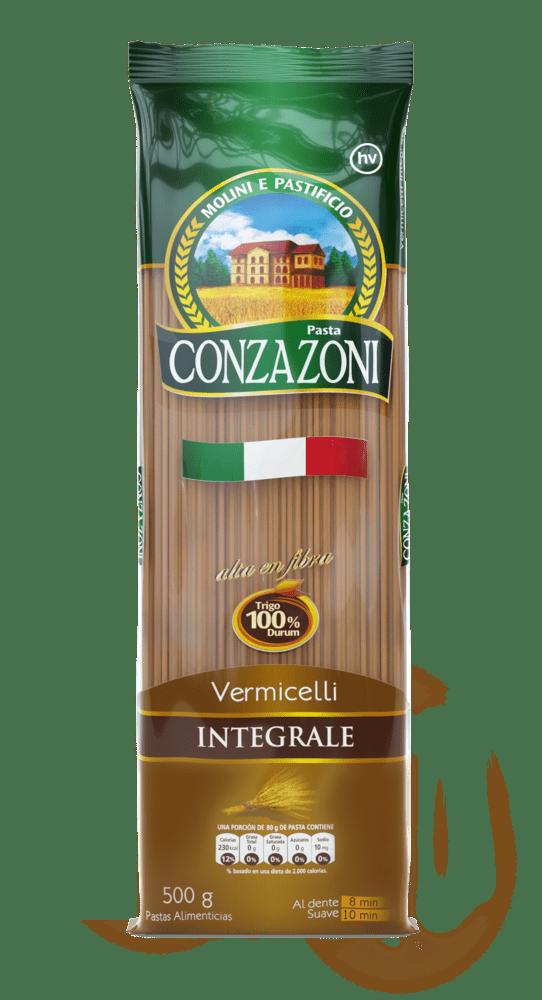 Pasta Conzazoni Integral Vermiceli 500 G