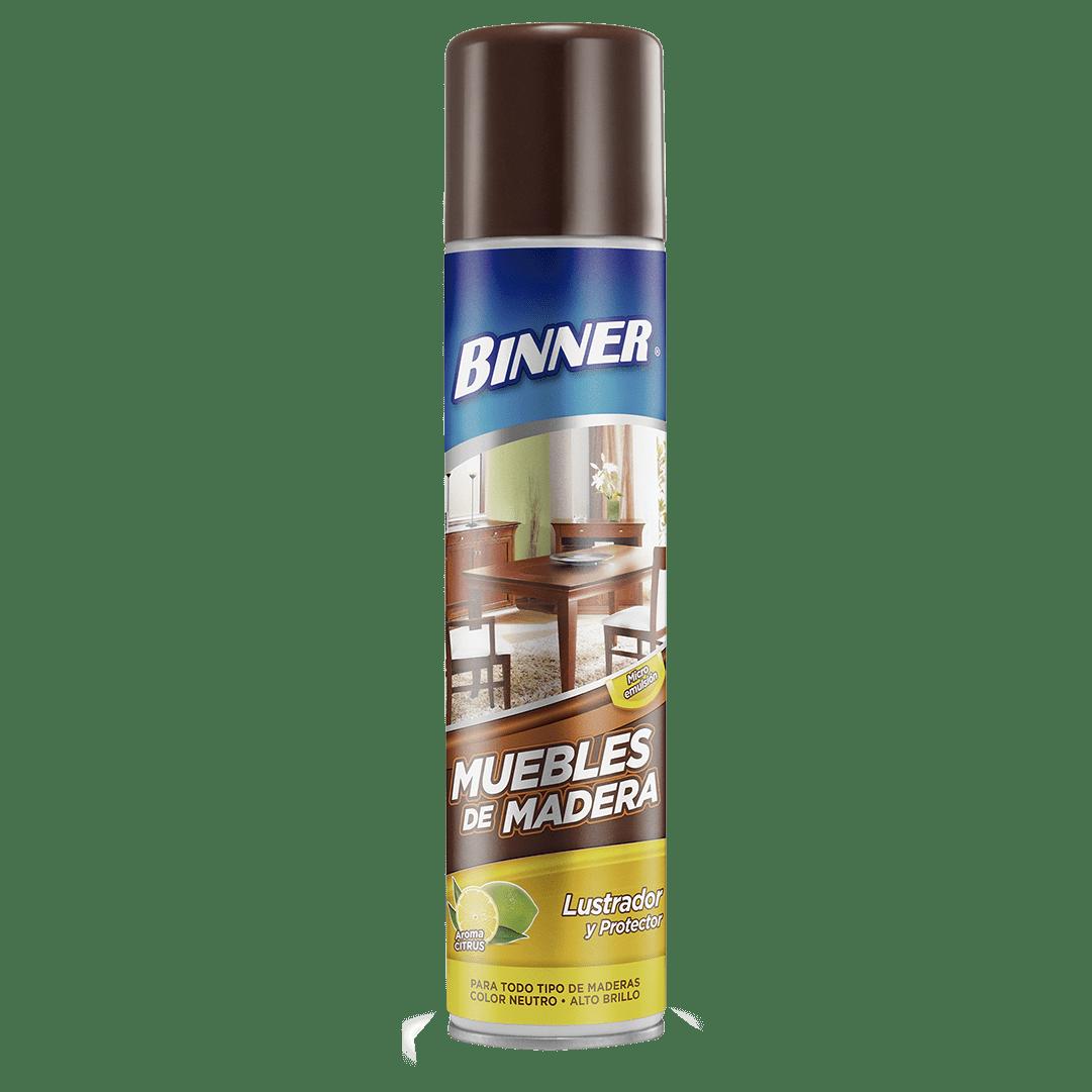 Binner Lustramuebles Aerosol Microemulsión 330 Ml