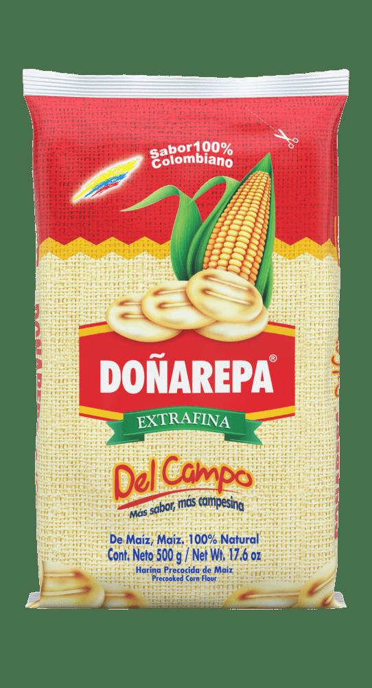 Harina De Maíz Doñarepa Del Campo 500 G