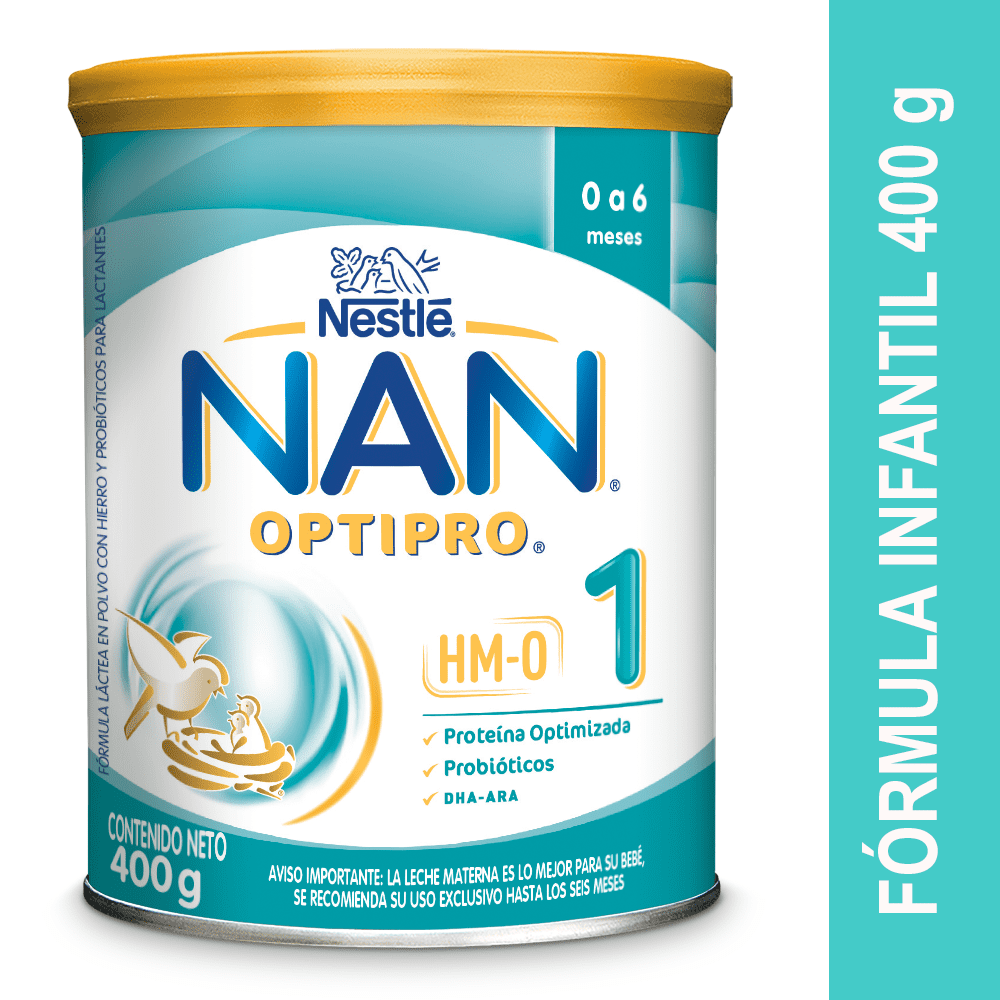 Fórmula Infantil Nan Pro 1 400 G