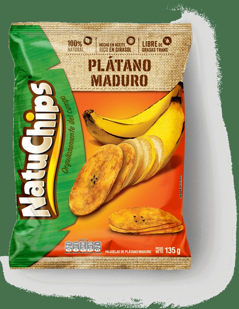 Natuchips Frito Lay Plátano Maduro 135 G