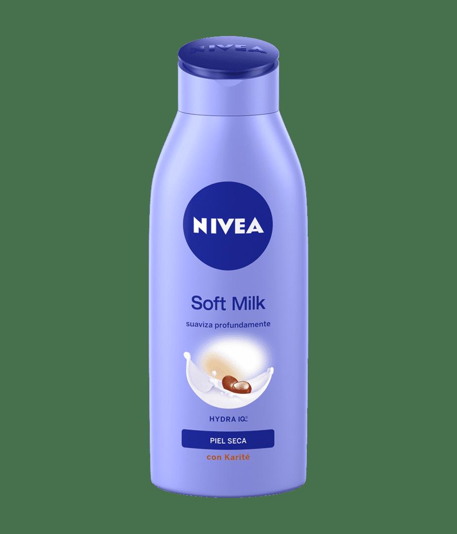 Crema Nivea Body Soft Milk Piel Seca 250 Ml