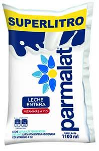 Leche Parmalat Entera Bolsa 1100 Ml