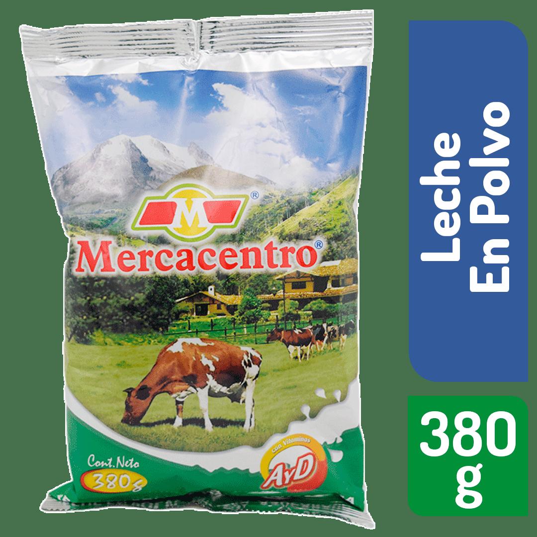 Leche Mercacentro Azucarada Polvo 380 G