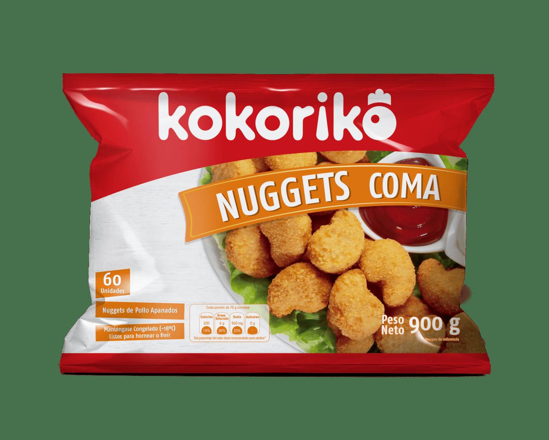 Nuggets De Pollo Coma Kokoriko X 60 Und / 900 G