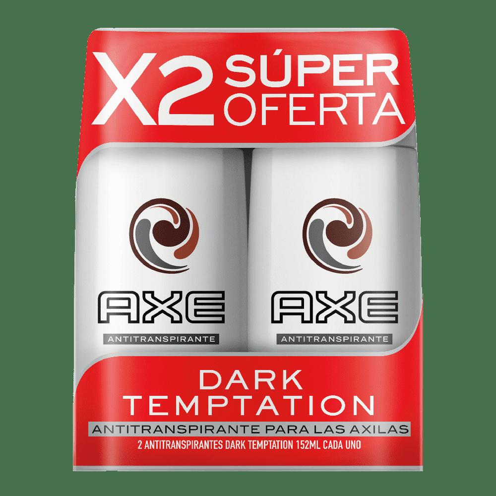Desodorante Axe Antitranspirante 2X90 G Dark Temptacion