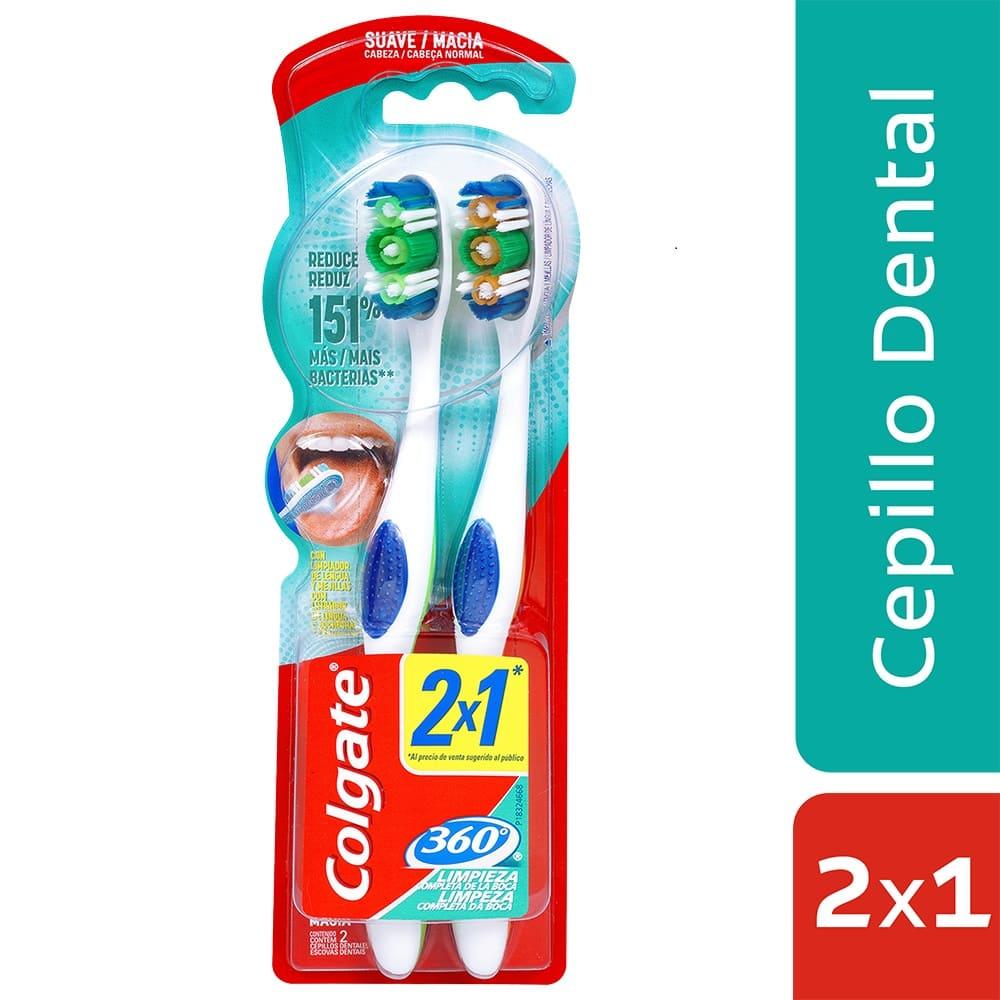 Cepillo Colgate 360 Suave X2 Precio Especial 1 Und