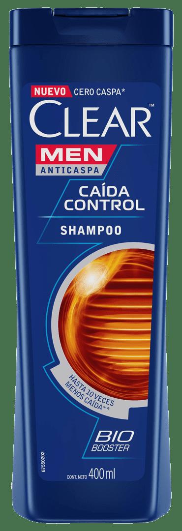 Shampoo Clear Men Control Caída 400 Ml