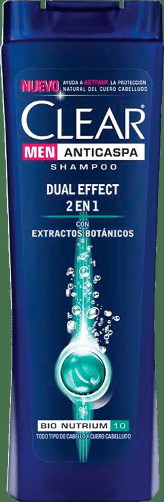 Shampoo Clear Men 2En1 Dual Effect 400 Ml