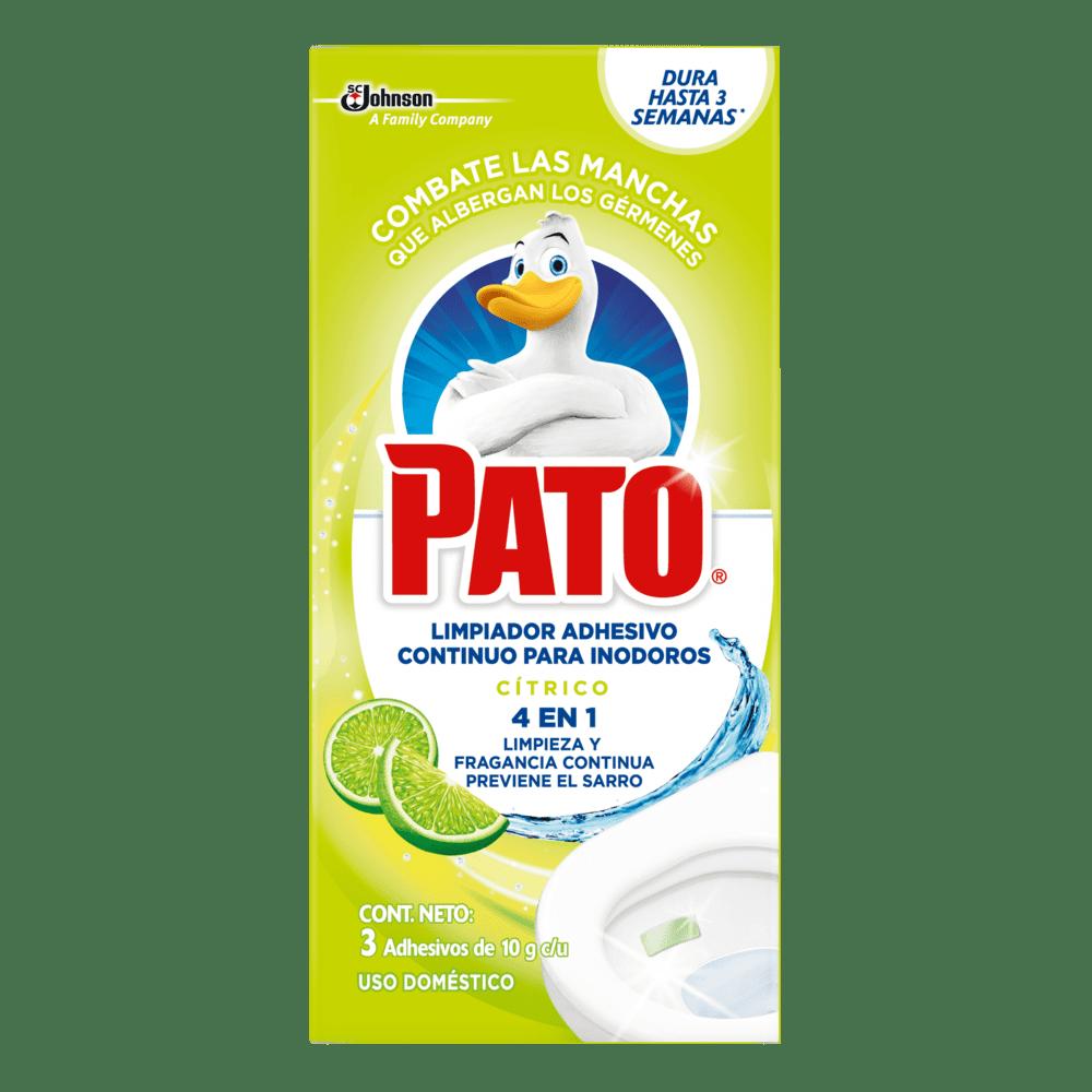 Pato Pastillas Adhesivas Cítrico 30 G