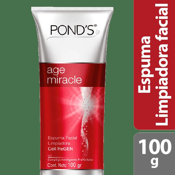 Espuma Facial Ponds Age Miracle Restauradora 100 G