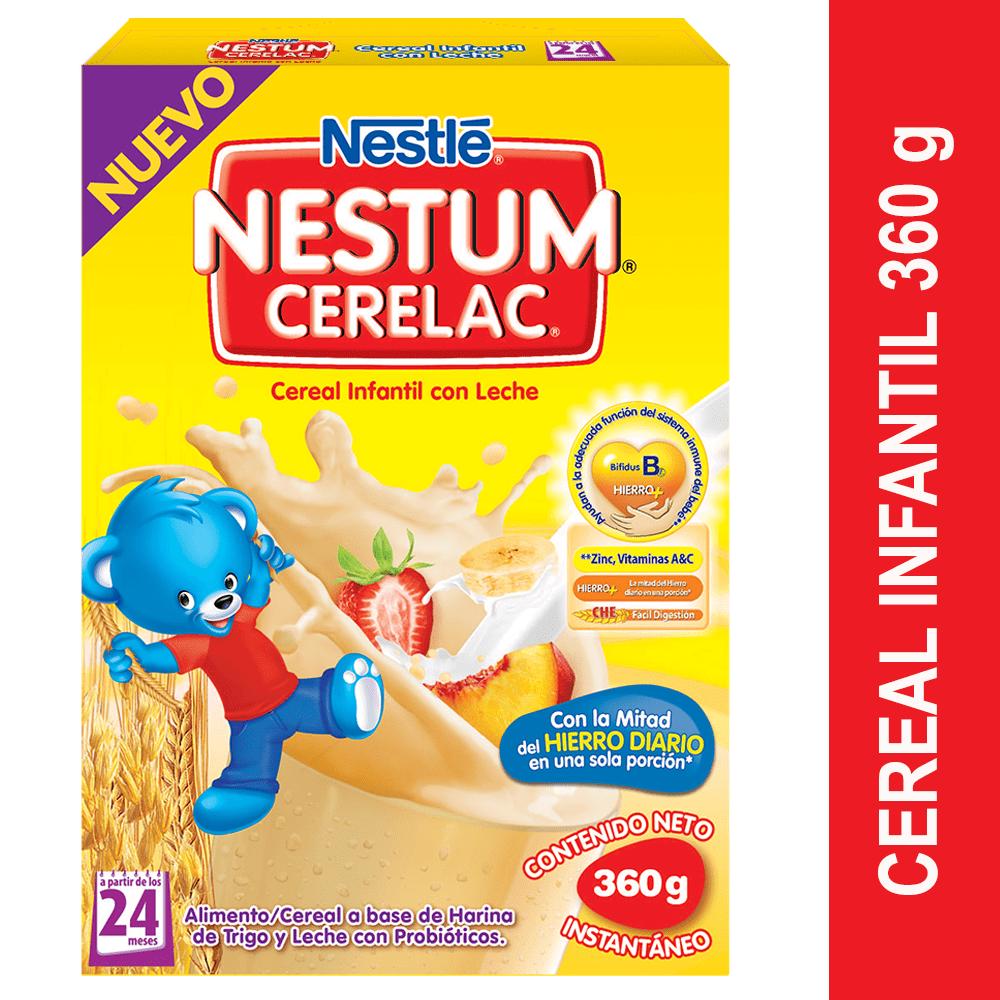 Nestum Trigo Miel Hierro 360 G