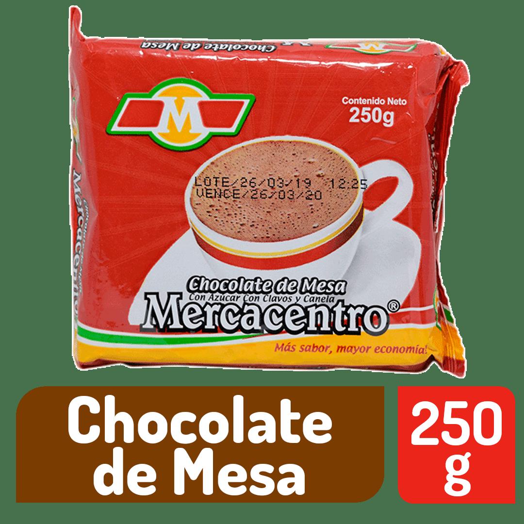Chocolate Mercacentro Con Azúcar Clavos Y Canela 250 G