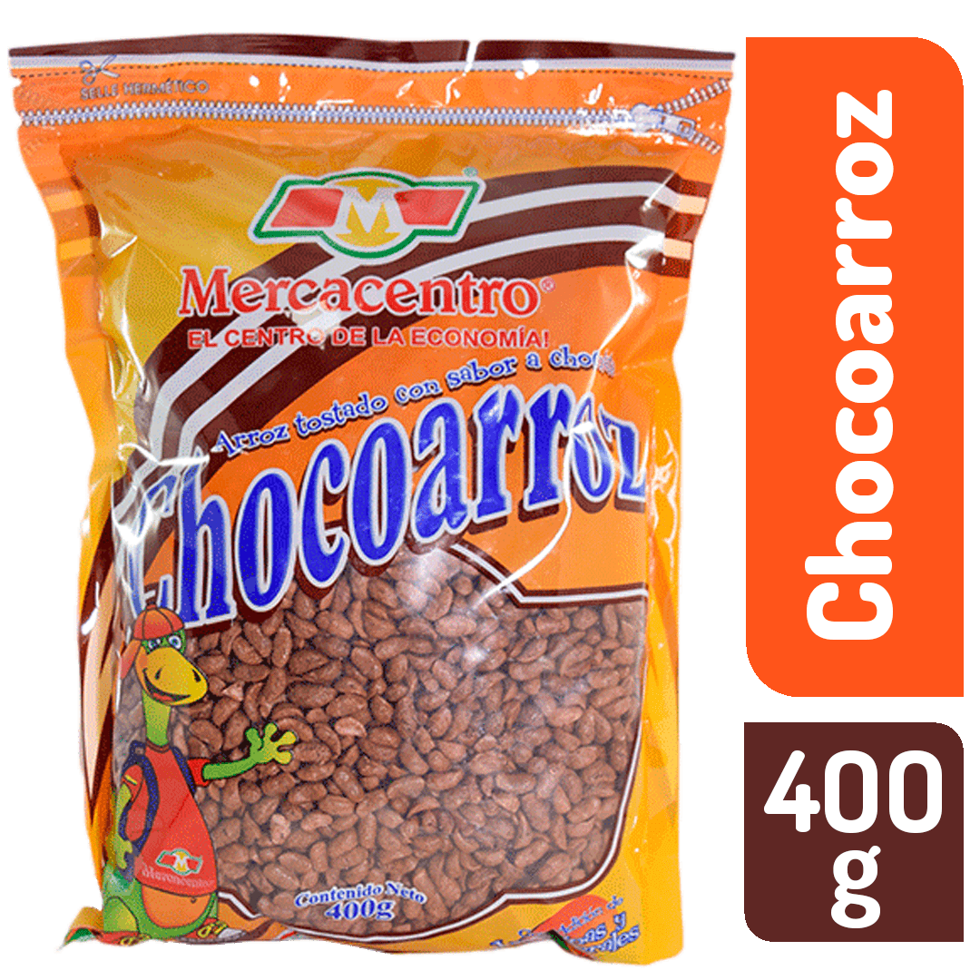 Cereal Choco Arroz Mercacentro 400 G