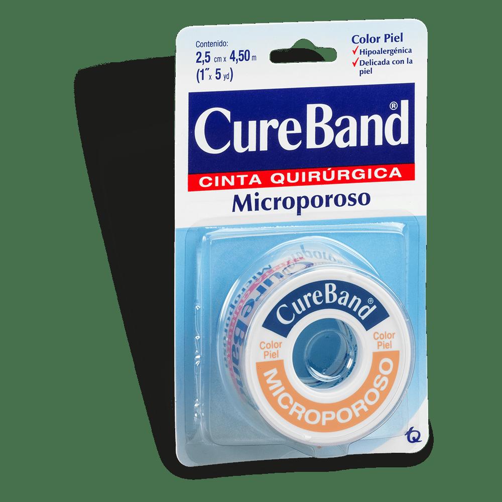 """Microporoso Cureband 1""""*5Yardas Piel 5 M"""