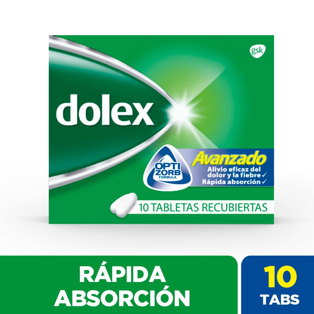 Dolex Avanzado 10 Tabletas