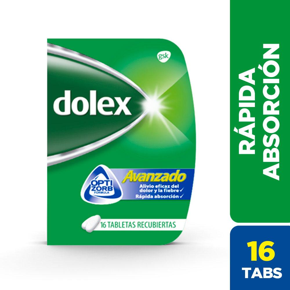 Dolex Avanzado 16 Tabletas