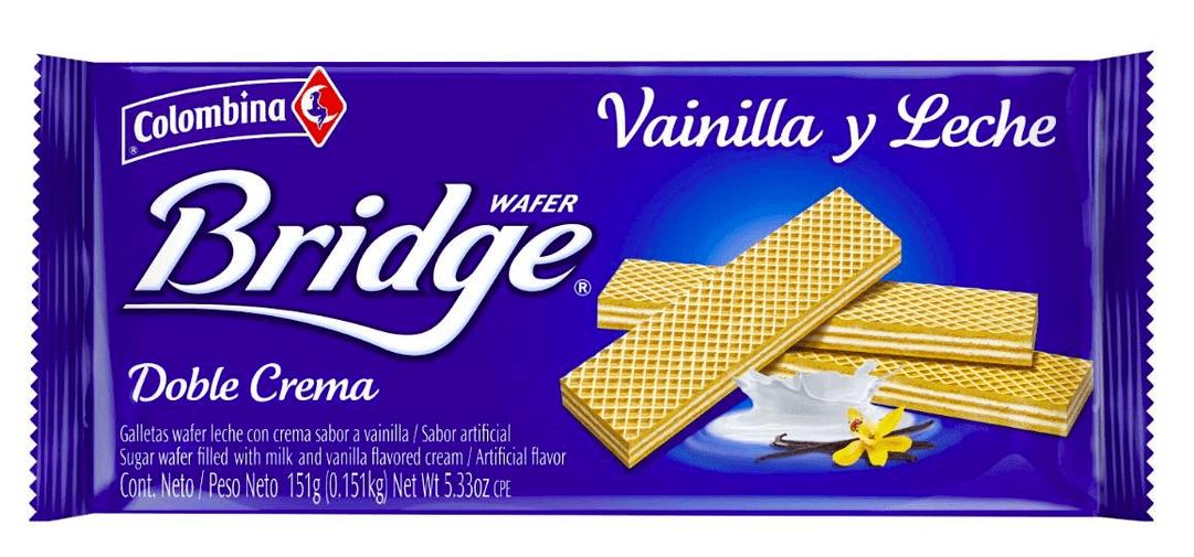 Galletas Bridge Mini Taco Vainilla 71 G