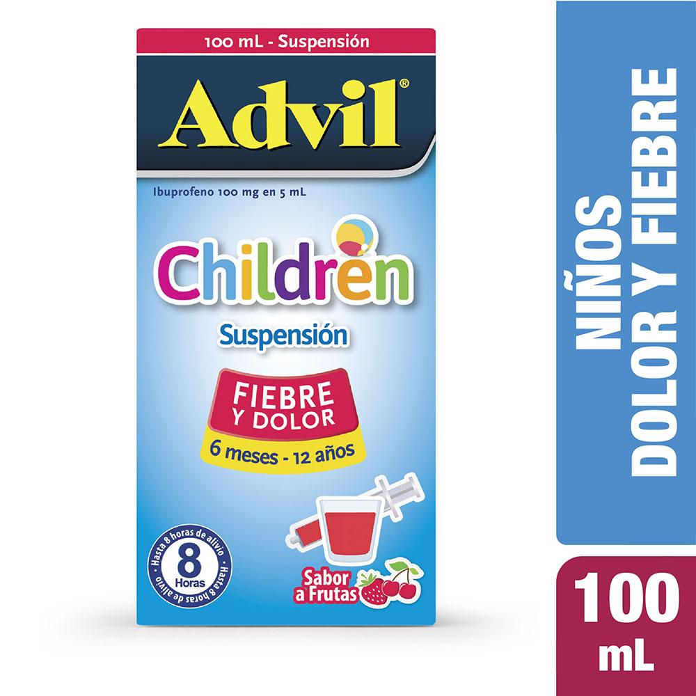 Advil Children Jarabe Niños 100 Ml