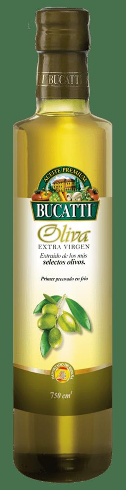 Aceite De Oliva Bucatti Extra Virgen 750 Cm3
