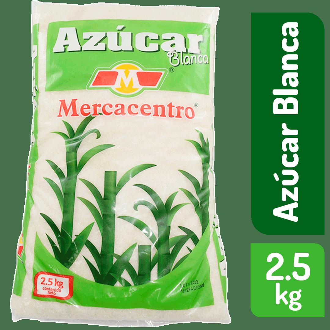 Azúcar  Blanca Mercacentro 2500 G