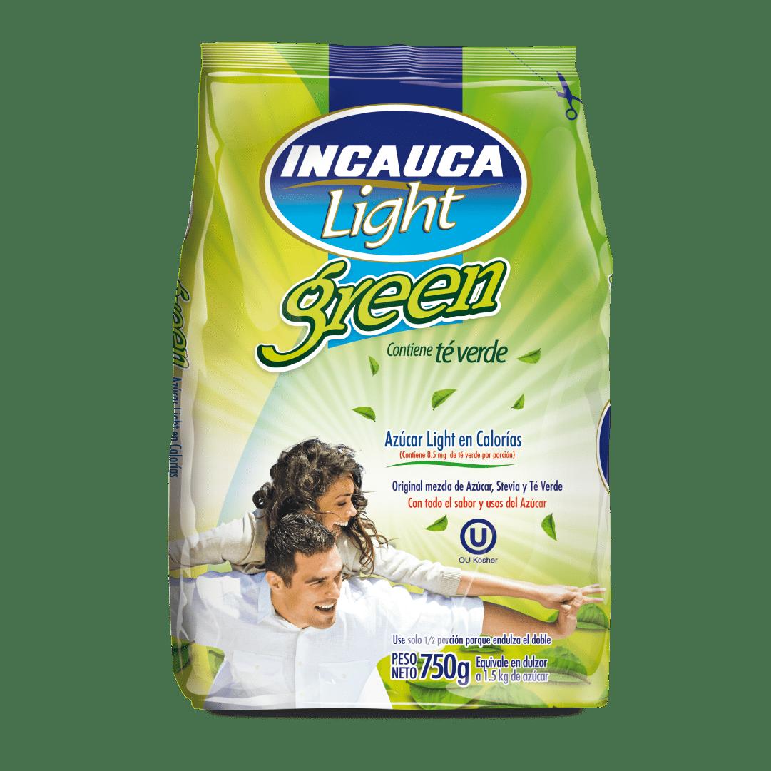 Azúcar  Incauca Light Green Bolsa 750 G
